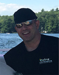 Marco Caira, Founder of Caira Landscaping in Wilmington, Massachusetts